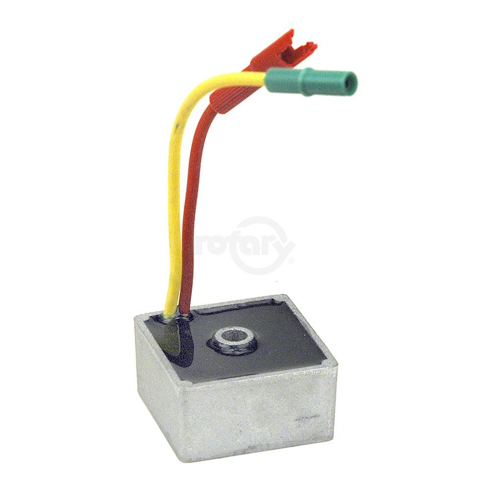 Stens 435-061 Voltage Regulator 28B700 691188 28M700-28Q700 Replaces Briggs and Stratton: 491546 Fits Briggs and Stratton: 256400 794360 351400 351700 and 42A700